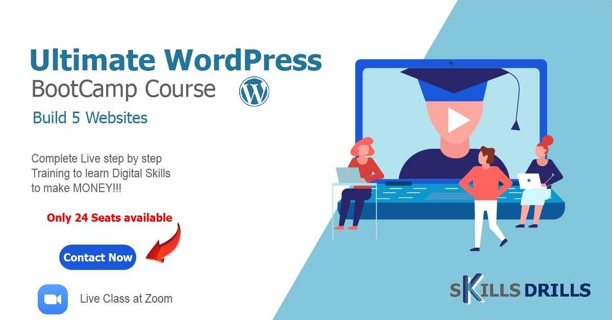 WordPress Boot Camp Course